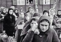 Немецкие дети, увидев русских рабов, бросали в них камни