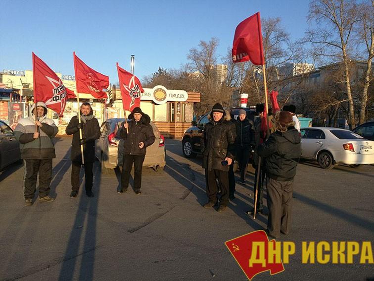Хабаровск: Автопробег против роста цен на бензин