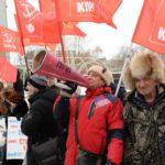 «Вскоре Новосибирск заговорит по-французски»: Новосибирцы вышли на акцию протеста против пенсионной «реформы»