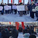 На Сахалине прошел народный сход в защиту Курильских островов. Следующая акция 22 декабря