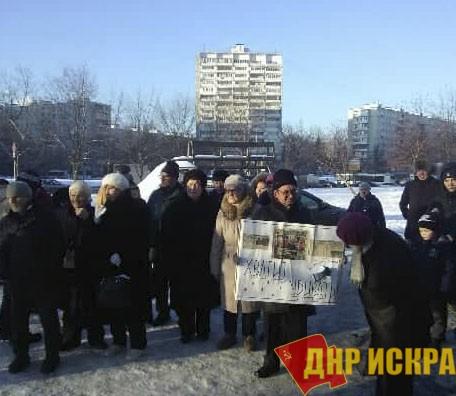 Москва: Жители Дегунино и Бескудниково протестуют против варварской строительной политики