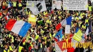 Власти Франции посчитали ущерб от протестов «жёлтых жилетов»