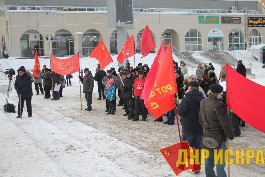 Митинги протеста в Вологде