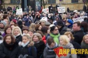 В Литве продолжается забастовка учителей