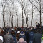 В Самаре состоялся митинг против застройки лесопарка
