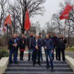 Краснодарский край. В Новороссийске коммунисты отреставрировали и торжественно открыли памятник В.И. Ленину