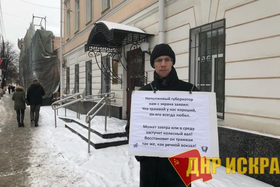 Тверь: Продолжается борьба за городской трамвай