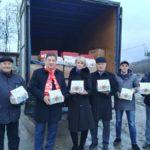 Коммунисты Ставрополья направили гуманитарный груз в Новороссию с новогодними подарками для детей