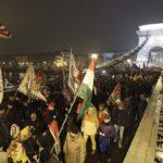 В Венгрии прошла манифестация против «закона о рабстве»