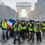 «Желтые жилеты» провели 22 декабря шестой раунд протестов