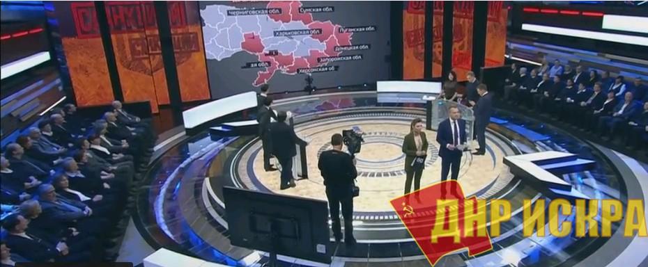 Сергей Шаргунов в эфире «России 1»: Для жителей Донбасса война не прекращалась (Видео)