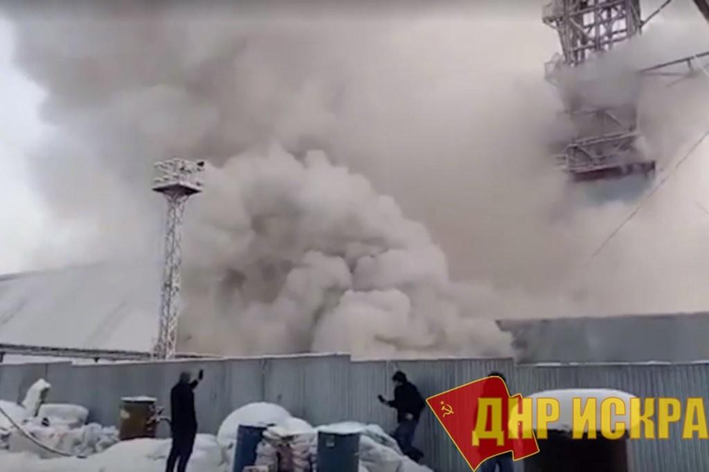 Пожар на руднике в Соликамске