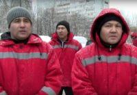 Московские дворники пришли за зарплатой, а оказались в полиции