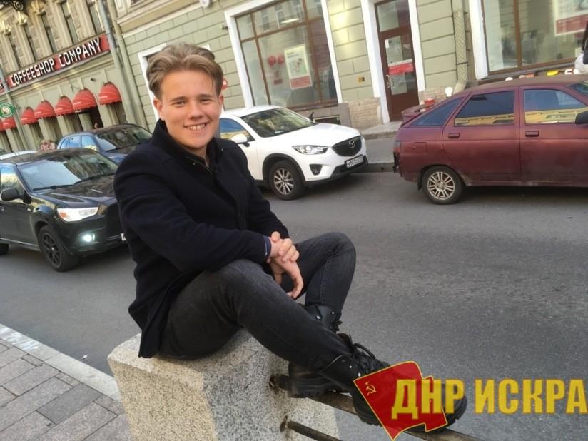 Школьник из Санкт-Петербурга Леонид Шайдуров