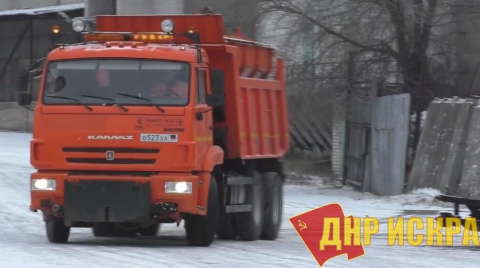 В Донецке сообщили в чем причины с задержкой вывоза мусора