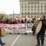 Учителя Греции в прямом эфире высказали свои требования