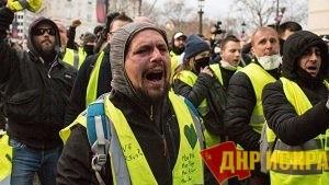 Во Франции прошла девятая акция «желтых жилетов»