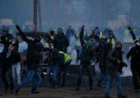 Во Франции «желтые жилеты» ворвались на территорию тюрьмы