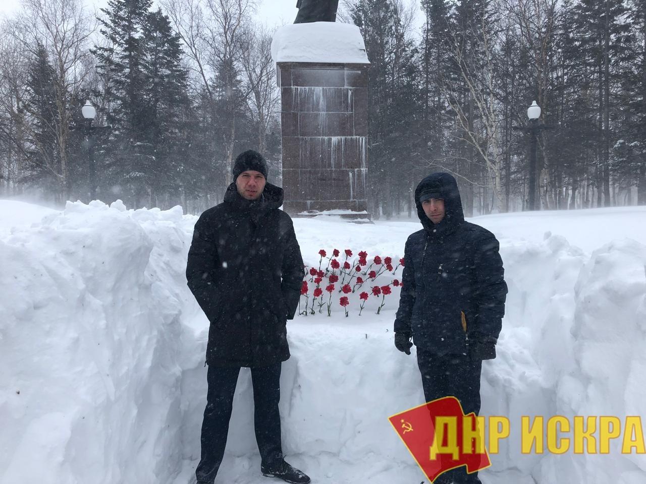 Сахалин почтил память революционера и основателя Советского государства