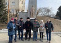 В Большом Камне и Уссурийске возложили цветы к памятникам В.И. Ленину