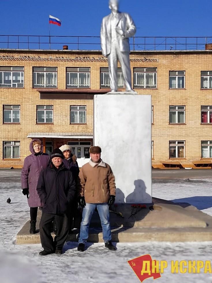В городе Спасске-Дальнем почтили память вождя революции
