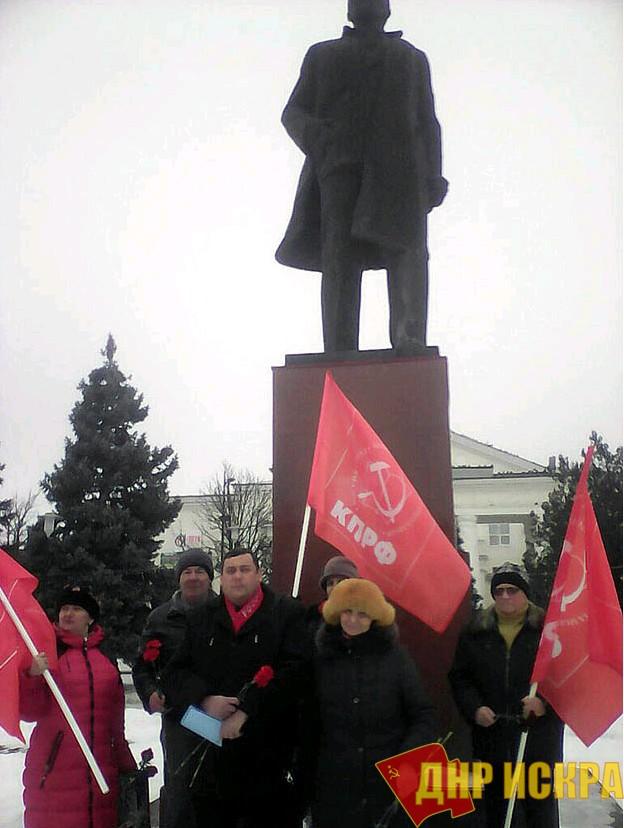 Белокалитвинские коммунисты потребовали привести в порядок памятники В.И. Ленину