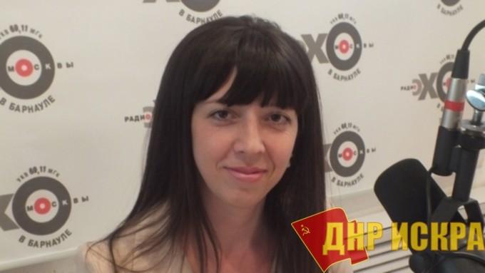 Начальник управления молодёжной политики и реализации программ общественного развития Алтайского края Екатерина Четошникова