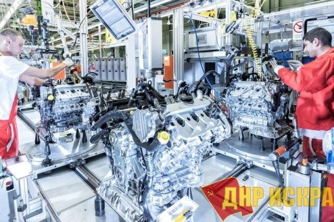 Бастуют работники завода Audi в Венгрии