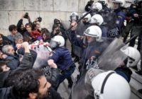 Власти Греции жестоко подавили демонстрацию учителей