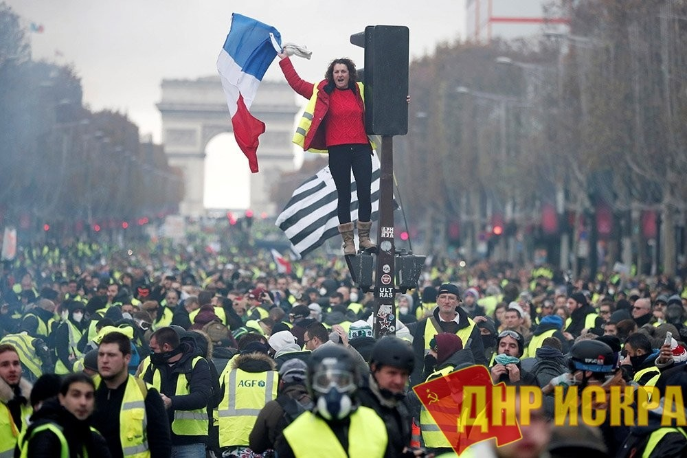 Французское движение «Желтые жилеты» отметило трехмесячную годовщину начала протестов