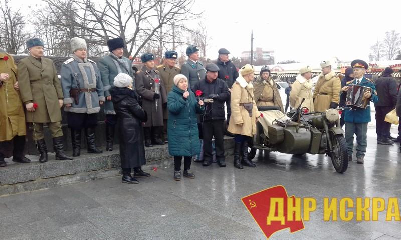 Новости КПУ. Харьковчане отметили 76-летие первого освобождения родного города от немецко-фашистских захватчиков