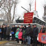 В Симферополе состоялся митинг, посвященный 101-й годовщине создания Красной Армии и Военно-Морского Флота