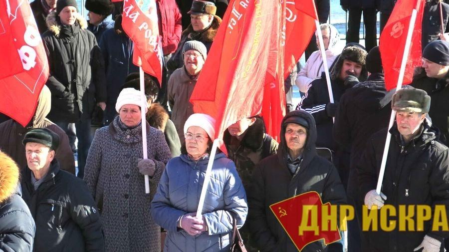 101-я годовщина Советской Армии и Военно-Морского Флота в Чувашии