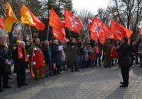 В Астрахани состоялся митинг в честь Дня Советской Армии и Военно-Морского Флота
