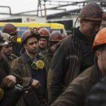 В оставшейся под Украиной части Донецкой области третий день бастуют шахтеры