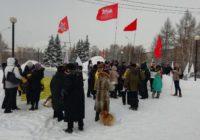 Экологический пикет в Челябинске