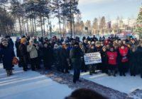 Республика Саха (Якутия). В городе Нерюнгри прошел очередной протестный митинг