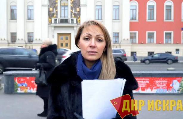 Видеообращение жительницы Москвы по поводу отравлений в детских садах