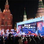 Рейтинг Путина снова падает
