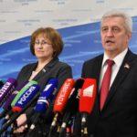 «Сплотить большинство народа!». Н.И. Осадчий и В.А. Ганзя выступили перед журналистами в Госдуме