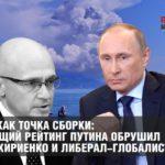 Крым как точка сборки: падающий рейтинг Путина обрушил акции Кириенко и либерал-глобалистов