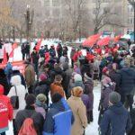 Общегородской митинг против мусорной реформы и падения уровня жизни граждан прошел в Новокуйбышевске