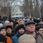 Недовольные властью пензенцы вышли на митинг