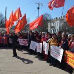 Севастопольские коммунисты протестуют против людоедской политики властей