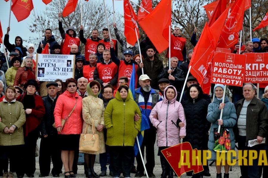 Астраханские коммунисты выступили в защиту трудящихся и против полицейщины