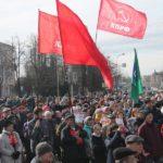 В Пскове прошел масштабный митинг против строительства химзавода
