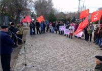 Митинг 23 марта в Пролетарске