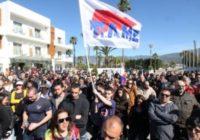 Греция. Жесткая борьба за рабочие профсоюзы