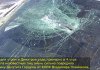 Ульяновская область. В Димитровграде депутату КПРФ изуродовали автомобиль. Бандитские методы противодействия коммунистам продолжаются