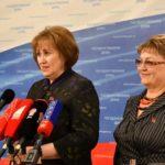 «Когда же рванет паровой котел?». О.Н. Алимова и В.А. Ганзя выступили перед журналистами в Госдуме